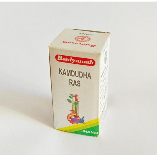 Baidyanath - Камдудха раса (Kamdudha Rasa) (10 грамм)