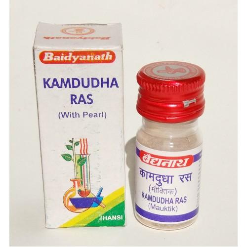 Baidyanath - Камдудха раса (Kamdudha Rasa) (25 таб)