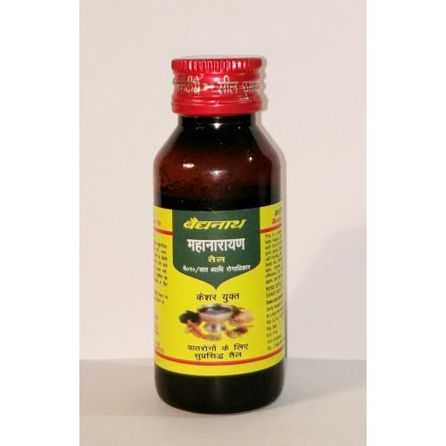 Baidyanath - Маханараян масло (Mahanarayan oil) (50 мл)