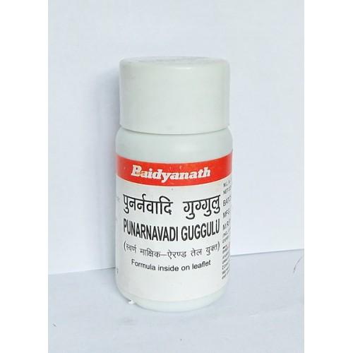 Baidyanath - Пунарнавади гуггул (Punarnavadi Guggul) (80 таб)
