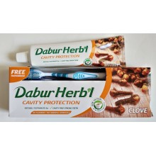 """Dabur - Зубная паста """"Гвоздика"""" (150 грамм) + зубная щётка"""