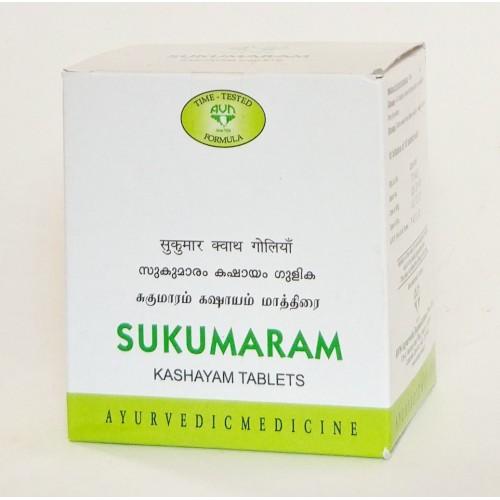 AVN - Сукумарам кашая (Sukumaram Kashaya) (100 таб)