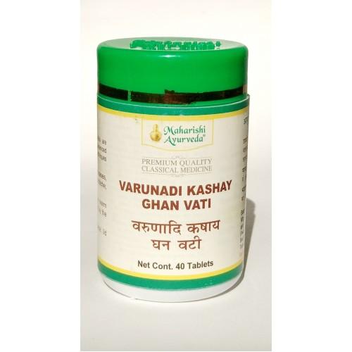 MA - Варунади кашая (Varunadi Kashay Ghan Vati) (40таб)