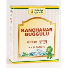 MA - Канчнар гуггул (Kanchanara Guggulu) 25гр (50таб)