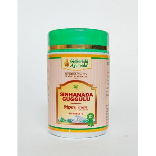 MA - Синхнад гуггул (Sinhanada Guggulu) 25гр (100таб)