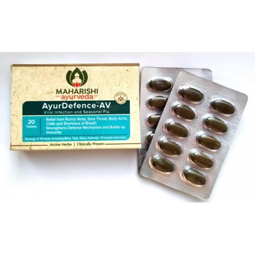 MA - Аюрдефенс (AyurDefence-AV For Viral Infections & Seasonal Flu) (20 табл)