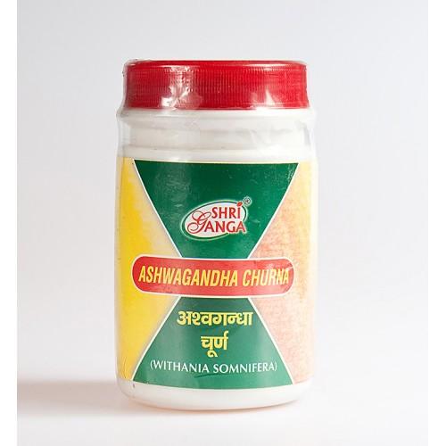 Shri Ganga - Ашвагандха порошок (Ashwagandha churna) (100 грамм)