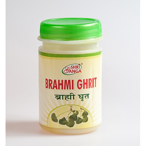 Shri Ganga - Брами гхрит (Brahmi Ghrit) (100 грамм)