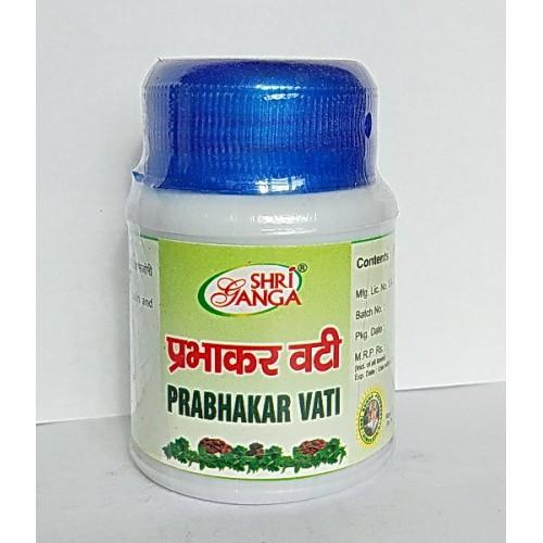 Shri Ganga - Прабхакар вати (Prabhakar Vati) (60 таб)