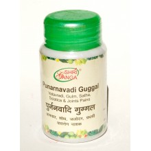 Shri Ganga - Пунарнавади (Punarnavadi Guggul )(50 грамм)