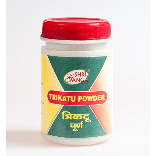 Shri Ganga - Трикату порошок (Trikatu churna) (50 грамм)