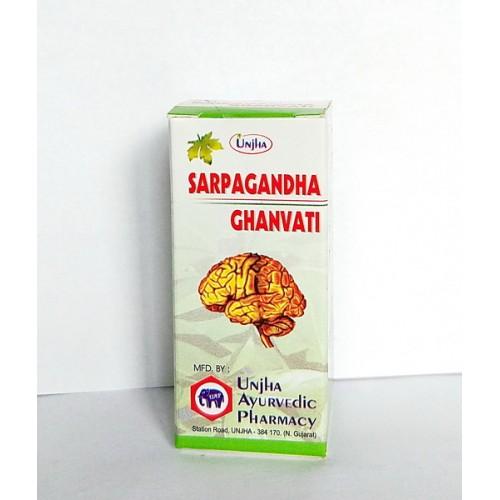 Unjha - Сапрагандха гхан вати (Sarpagandha Ghan Vati) (40таб)